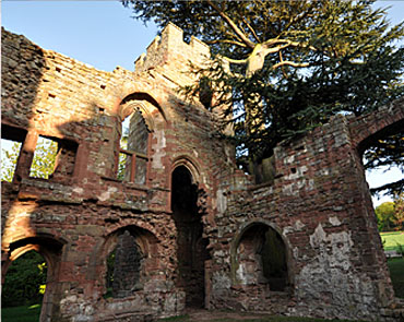 Interior of Acton Burnell Castel