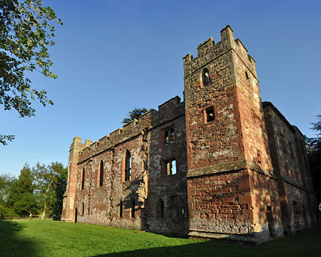 West-Facing Side of Acton Burnell Castle / Manor