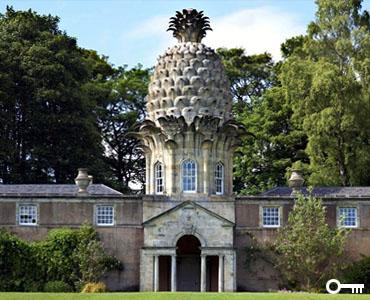 The Dunmore Pineapple House, Strange UK Houses