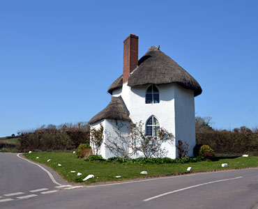 The traffic Island House