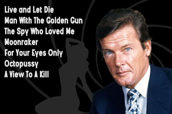 Actors Who Played James Bond - Britain ExplorerBritain ...