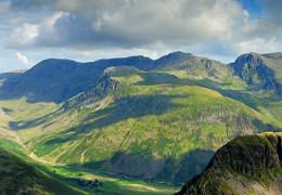 Scafell Mountain Range