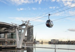Thames Cable Car and Emirates Air Line