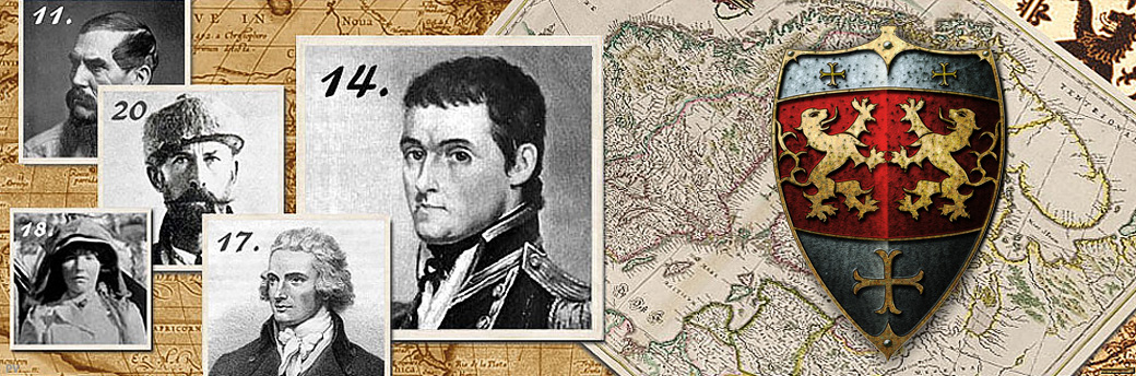 British Explorers – The Top Twenty