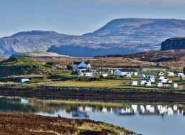 Skye Camping and Caravanning Club Site