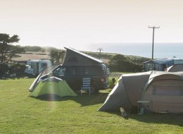 St Davids Camping and Caravanning Club Site