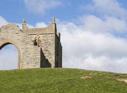 St Michael's Church Ruin Burrow Mump