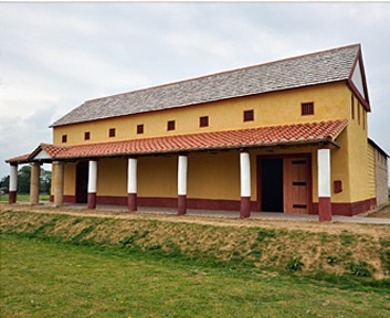 Roman Villa Portico
