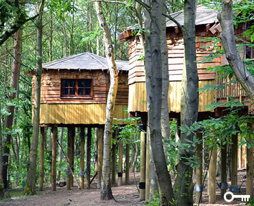 Centre Parcs Tree House, Strange UK Houses strange houses  unusual homes  unique homes for sale  unusual houses  land registry house prices  unique homes  strange homes for sale  materials for houses  houses built  materials for a house  materials for house  forced air heating uk  materials of a house  odd buildings for sale uk
