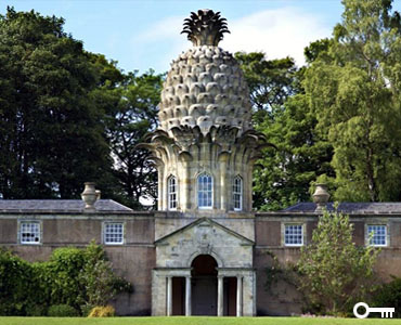The Dunmore Pineapple House, Strange UK Houses