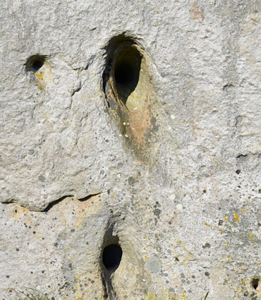 Mystery Holes of Avebury Megaliths