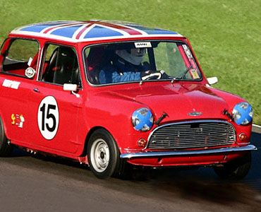 British Icon - The Red Mini Car