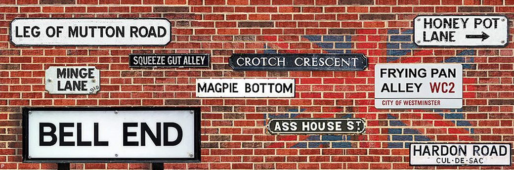 Funny Place Names