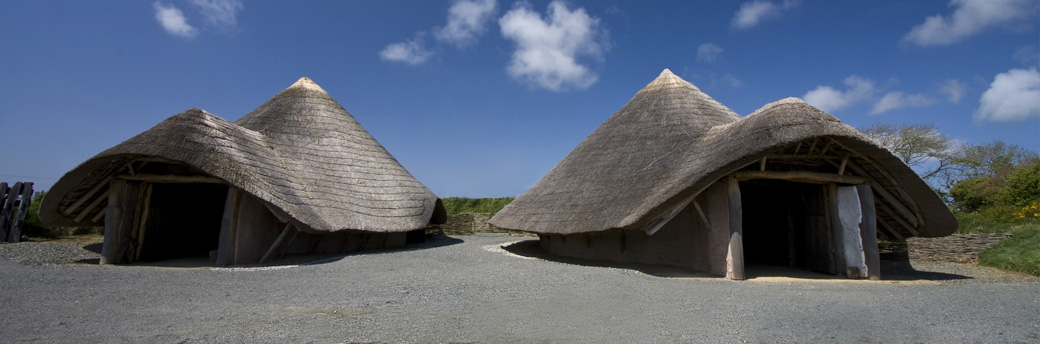 Llynnon Mill Iron Age Roundhouses