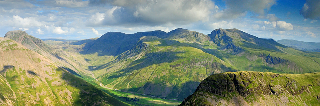 Scafell Mountain Range