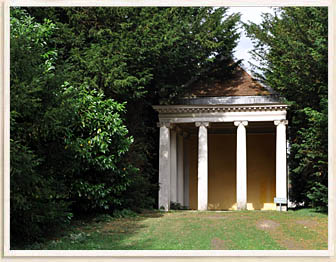 The Temple of daphne at West Wycombe