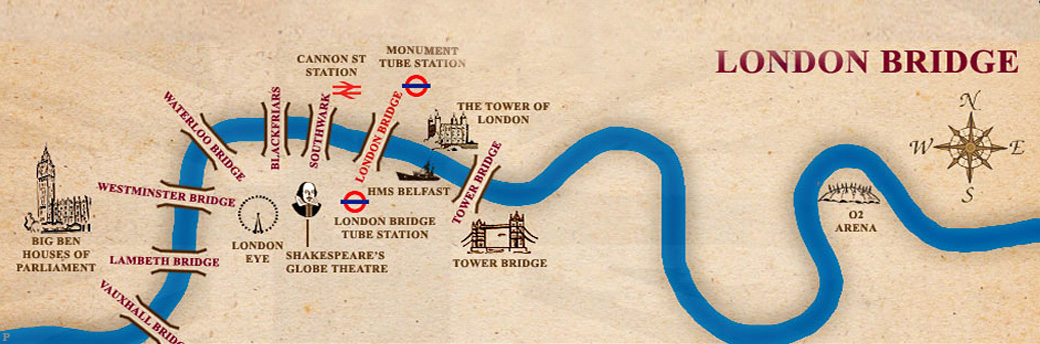 Map London Bridge.Where Is London Bridge Britain Explorerbritain Explorer