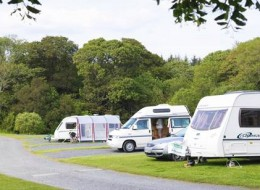 Culzean Castle Camping and Caravanning Club Site