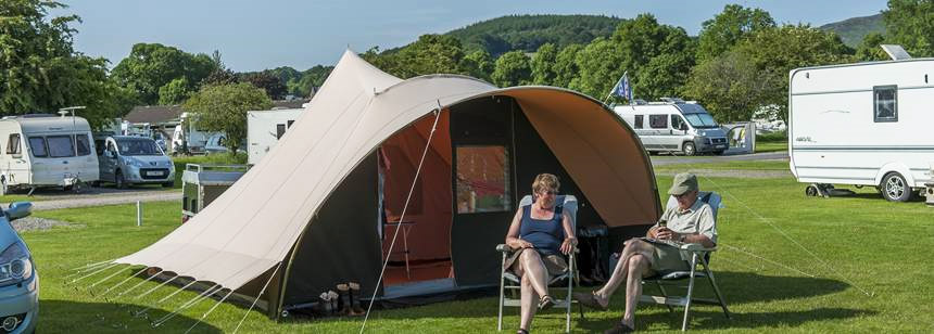 Moffat Camping and Caravanning Club Site
