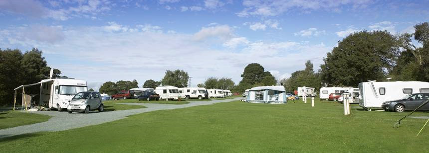 Oswestry Cranberry Moss Camping and Caravanning Club Site
