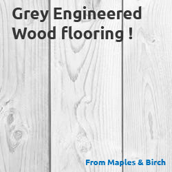 Grey Engineered Hardwood Flooring