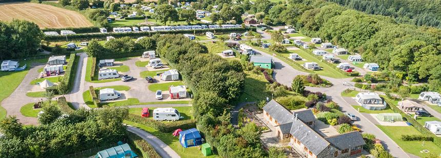 Monkton Wyld Caravan & Camping Site